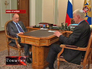 Владимир Путин на встрече с Федором Андреевым