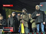 Лидеры украинской оппозиции на Евромайдане в Киеве