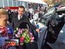 Дмитрий Медведев на церемонии вручения автомобилей победителям Олимпиады