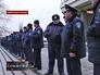 Милицейский кордон у здания правительства Крыма