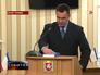 Начальник ГУ Службы безопасности Украины в Автономной Республике Крым Петр Зима приносит присягу