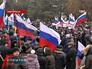Акция в Новочеркасске в поддержку народа Украины
