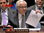 Виталий Чуркин на заседании ООН