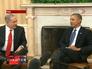 Президент США Барка Обама на пресс-конференции