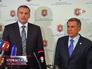 Встреча председателя Совета министров Автономной Республики Крым Сергея Аксёнова и резидента Татарстана Рустама Минниханова