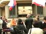 Митинг возле здания Верховной Рады АР Крым
