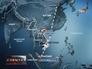 Карта траектории полета пассажирского самолета Малайзии