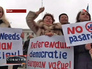 Митингующие в Крыму