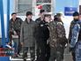 Военнослужащие Украины на военной базе в Севастополе