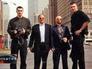 Братья Кличко, Александр Музычко и Виталий Рыбалко