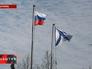 Российский и Андреевский флаги