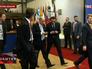 Премьер-министр Украины Арсений Яценюк на саммите глав госсударств ЕС