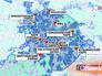 Точки проведения праздничного салюта на карте Москвы