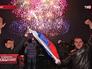 Воссоединение России и Крыма отметили праздничным салютом