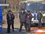 Полиция на месте сноса незаконных построек