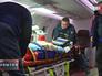 Транспортировка пациента сотрудниками МЧС