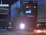 Очередь из грузовых машин