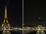 """Акция """"Час Земли» в Париже"""