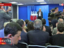 """Пресс-конференция председателя партии """"Национальный фронт"""" Марин Ле Пен"""