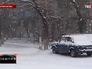 Снегопад в Саратовской области