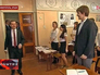 Дмитрий Медведев посетил гимназию в Симферополе