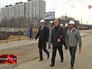 Сергей Собянин осмотрел строительство развязки на Варшавском шоссе