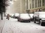 Cнегопад в Москве