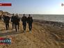 Комиссия осматривает береговую линию в Крыму