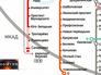 """Карта метро со строящимися станциями """"Тропарёво"""", """"Румянцево"""" и """"Саларьево"""""""