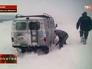 На Сахалин обрушился снежный циклон