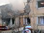 Взрыв газа разрушил часть многоквартирного дома