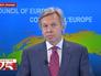 Член российской делегации на Парламентской ассамблее Совета Европы, председатель комитета Госдумы по международным делам Алексей Пушков