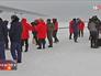 Прибытие специалистов ВДВ на Северный полюс