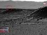 Свечение на поверхности планеты Марс