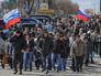 Митинг в Луганске сторонников проведения референдума о статусе восточных регионов Украины