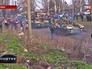 Военная техника с отрядом Нацгвардии на дороге в пригороде Донецка