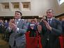 Первый вице-премьер Крыма Рустам Темиргалиев и премьер-министр Крыма Сергей Аксенов