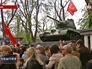 Годовщина освобождения от фашистов в Симферополе