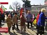 Возложение цветов к мемориалу воинской славы в Крыму