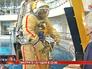 Космонавты на тренировке