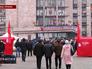 Митингующие у администрации Донецка