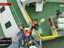 """Спасательная операция на месте крушения южнокорейского парома """"Севол"""""""
