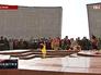 Вечный огонь на воинском мемориале в Ялте