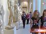 Посетители Государственного музея изобразительных искусств им. А.С.Пушкина