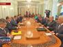 Совещание с членами Совета безопасности России
