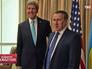 Госсекретарь США Джон Керри и глава МИД Украины Андрей Дещица