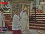 Папа Римский Франциск на обряде крещения