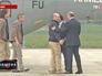 Президент Франции Франсуа Олланд встречает французских журналистов