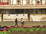 Баррикада у здания администрации Славянска