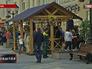 """Фестиваль """"Пасхальный дар"""" на пешеходной улице в Москве"""